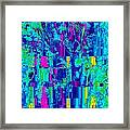 Spring - Gradient Framed Print by Colleen Cannon