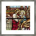 Stained Glass Framed Print