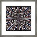 Stained Glass Kaleidoscope 49 Framed Print