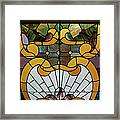 Stained Glass Lc 01 Framed Print