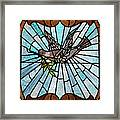 Stained Glass Lc 14 Framed Print by Thomas Woolworth