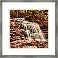 Stairs Falls Framed Print