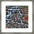Stairs Of Water Framed Print