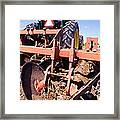 Stalk-puller Framed Print