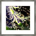 Steampunk Abstract Fractal . Square . S2 Framed Print