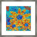Stimuli Floral S01 Framed Print by Variance Collections