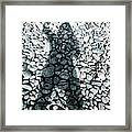 Stoned Shadow Framed Print