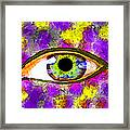 Strange Eye II Framed Print