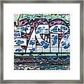 Street Graffiti - Tubs II Framed Print