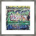Street Graffiti - Tubs IIi Framed Print