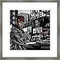 Street Phenomenon 50 Cent Framed Print