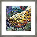 Strutting Framed Print
