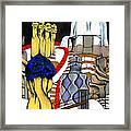 Studying Gaudi Framed Print