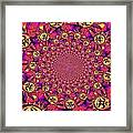 Sun Pattern Framed Print
