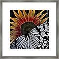 Sunfly Framed Print