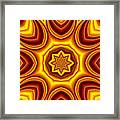 Sunrise Kaleido Framed Print