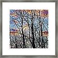 Sunset Cloud Colors 5 Framed Print