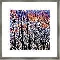 Sunset Cloud Colors 9 Framed Print
