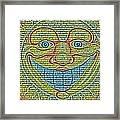 Sunshine Smile Art Framed Print