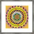 Sunshine Sunflower Framed Print