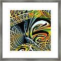 Swirling Colors Framed Print