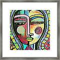 -talavera Virgin Of Guadalupe Protection Framed Print