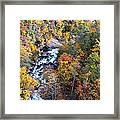 Tallulah River Gorge Framed Print