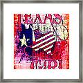 Texas Girl Framed Print