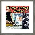 The Asphalt Jungle, Left Marilyn Monroe Framed Print by Everett
