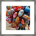 The Balloon Lady Framed Print