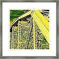 The Bridge To The Skies Framed Print