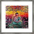The Buddha Intense Framed Print