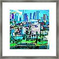 The City Of Angels Framed Print