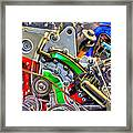 The Color Of Motion Framed Print by Joshua Ball