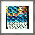 The Door At Galisteo Framed Print
