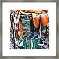 The English Saddle Framed Print by Paul Ward