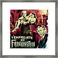 The Evil Of Frankenstein Aka Lempreinte Framed Print