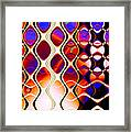 The Fabric Of Time Framed Print