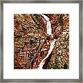 The Falls Framed Print by Amber Hennessey