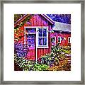 The Garden Path Framed Print