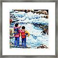 The Kayak Racer 14 Framed Print