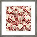 The Land Of Peppermint Candy Square Framed Print