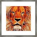 The Lions King Framed Print