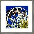 The Magic Ferris Wheel Ride Framed Print