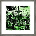Green Savannah Framed Print