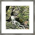The Mystery Waterfall Framed Print