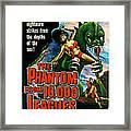 The Phantom From 10,000 Leagues, Poster Framed Print by Everett