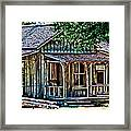 The Post Office Framed Print
