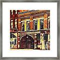 The Princess And Grand And Star Theatres On Amusement Row State Street In Erie Pa In 1910 Framed Print