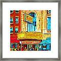The Rialto Theatre Framed Print